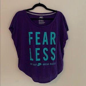 "Nike ""fearless"" T-shirt"